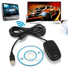 For Xbox 360 USB Wireless Receiver Game Controller Adapter Windows 10 Win10 PC