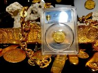 SPAIN 1607 1 ESCUDO PCGS AU Dt. RARE VARIETY PIRATE GOLD TREASURE COINS DOUBLOON