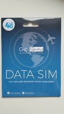 4G LTE/3G International Data SIM Card • US Canada Europe Asia Africa Middle East