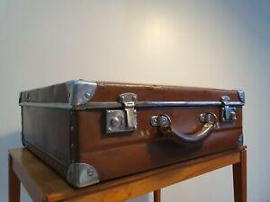 Vintage Louis Vuitton lozine marmotte commercial travelling suitcase / trunk