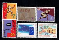 Cyprus 1995 Mi. 856-859,860-861 MNH 100% Against drugs, culture, Europe