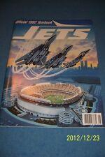1992 NEW YORK JETS Yearbook KEN O'BRIEN Bruce COSLET AL TOON Freeman MEADOWLANDS