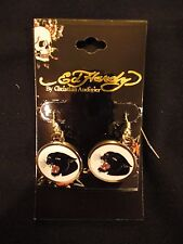 New Ed Hardy by Christian Audigier Panther Earrings