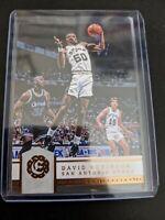 2016-17 Panini Excalibur Basketball #187 David Robinson San Antonio Spurs