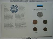 Estonia  1992 UNC  Official Mint Coinset !!!!