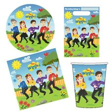 The Wiggles Party Supplies 40pc Party Pack-Plates/Cups/Napkins/Lootbags (CT)