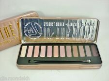 W7 In The Nude 12 piece natural eye shadow palette in brown, cream & buff