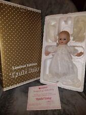 Horsman Limited Edition Porcelain Tynie Baby. NIB