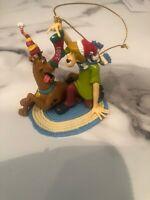 Cartoon Network SCOOBY-DOO & SHAGGY Christmas Ornament 2001 Hanna Barbera