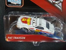 DISNEY PIXAR CARS 3 WITH CARD PAT TRAXSON PACE CAR 2017 SAVE 5% WORLDWIDE FAST