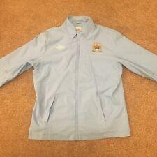 Manchester City Football jacket Coat XL Blue Umbro Etihad MCFC Rare!
