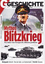 Zeitschrift Geschichte Nr 1/2014 Mythos Blitzkrieg = Versagen der Alliierten
