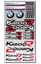 K1200R Motorrad Aufkleber blatt Laminiert stickers bmw s1200 R Motorsport