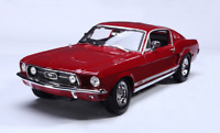 Maisto 1:18 1967 Ford Mustang GTA Fastback Diecast Model Racing Car Toy Red
