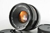 CANON FD 50mm F1.8 S.C. SC MF Film Camera Lens from Japan #1562