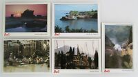 Indonesien Postkarten Lot 5 x BALI Indonesia Postcards, Karten mit Briefmarken