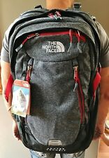 New The North Face Router Transit Backpack TSA Laptop Approved Zinc Grey Bag