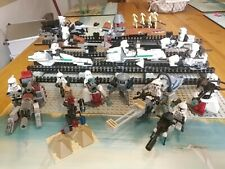 18 Stk. Lego Star Wars Figuren Clone Trooper Bewaffung Speeder oder Gun Waffe
