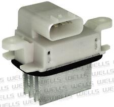 HVAC Blower Motor Resistor Front WVE BY NTK 4P1803