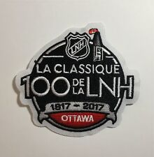 2017 NHL 100 CLASSIC JERSEY PATCH OTTAWA SENATORS MONTREAL CANADIENS - FRENCH