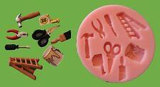 Herramientas de bricolaje 002 Molde silicona para tarta DECORACIÓN, chocolate,