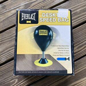 Everlast DeskTop Speed Bag Punching Ball RARE model 4228 NEW