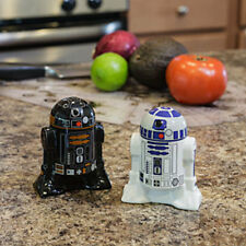 NEW! Star Wars Droid Salt & Pepper Shakers – R2-D2 & R2-Q5 Collectible Kitchen