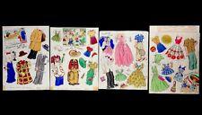 1952 Blondie Family Original Artwork Art Paper Dolls Clothing Whitman Comic