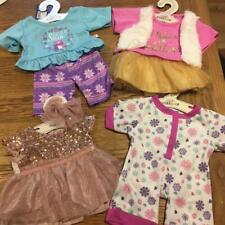 BUILD A BEAR FACTORY 4 X GORGEOUS OUTFITS INCLUDING SLEEPER BNWT