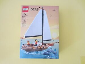 Lego 40487 Ideas Sailboat Adventure ✨New Factory Sealed 📦 Ships Global Too !✨