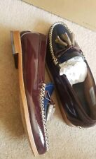Extremely VGC G.H.Bass Leather loafers size UK7 RRP £200