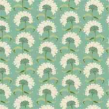 Tilda Fabric. Spring Lake. Rita in Teal. floral cotton.  By the FQ