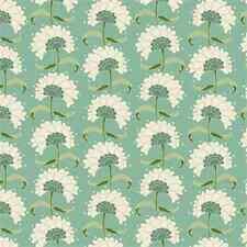 Tissu Tilda printemps.. lac Rita dans sarcelle. coton. floral par le FQ