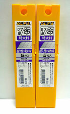 OLFA Genuine Replacement Blade 2 tubes / 10 blades / 25mm / HB5K