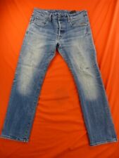 G STAR RAW Jean Homme Taille 32 x 30 US - Modèle Revend straight