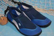 Neopren Strandschuhe Wattschuhe  Aquasock  Badeschuhe Surfschuhe blau Gr. 20-47