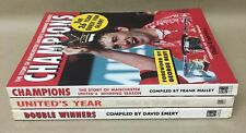 David Emery And Frank Malley Manchester United Season JOBLOT/BUNDLE