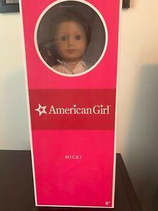 American Girl Doll Nicki in Original Box with Book.