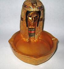 EGYPTIAN CLEOPATRA ART DECO STYLE ASHTRAY