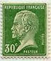 """FRANCE STAMP TIMBRE N° 174 """" TYPE PASTEUR , 30 C VERT """" NEUF x TB"""