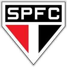 "Sao Paulo FC Brazil Football Soccer Car Bumper Sticker Decal 4.6""X4.6"""