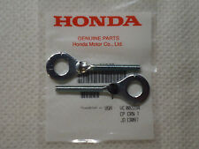 Honda z50 qa50 crf50 ct70 st70 sl70 crf80 xr80 Chain Adjuster s (PAIR) GENUINE
