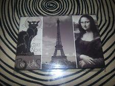 PARIS / BLACK CAT / JOCONDE / FRENCH FRIDGE MAGNET / NEW FRANCE