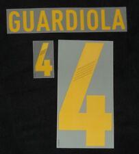 Original Spanien Spain Guardiola Flock für Adidas Home Trikot EM 2012-Quali 2014