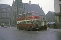 PHOTO Bolton Leyland PD2/4 393 GWH743 at Bolton in 1966