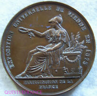 MED8567 - MEDAILLE PARTICIPATION FRANCE EXPOSITION UNIVERSELLE DE VIENNE 1875