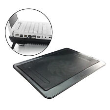 Notebook Laptop Cooler Mat Quiet Cooling Pad Stand Tray USB Powered 1 Fan