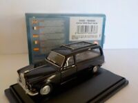 Model Car, Daimler DS420 Hearse - Black, 1/76 New