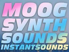 Moog Synth Sound Analog Vintage Soundfont Sf2 Reason NNXT Exs 24 Akai Sample NOW