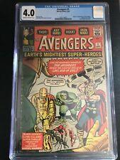Avengers 1 CGC 4.0